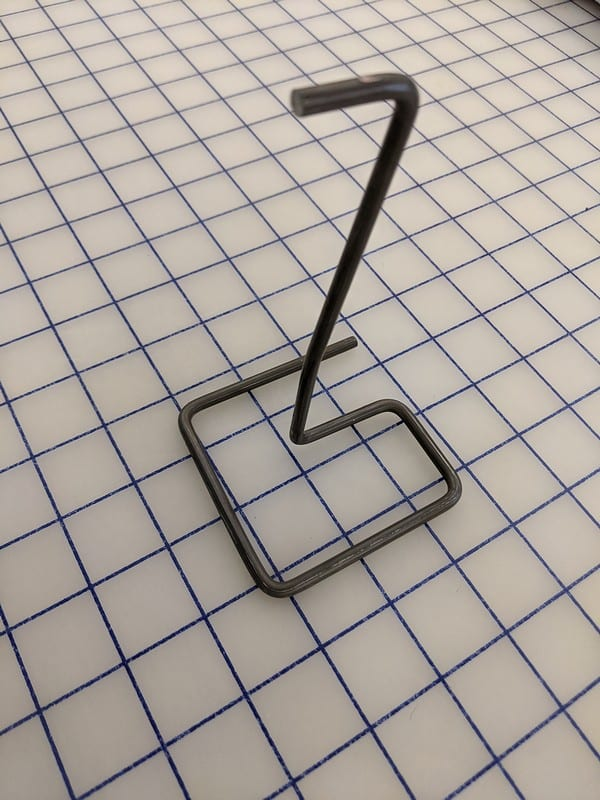 Metalworking bending of wire into 3d shapes